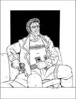 John, older Shadowrunner by PatrickHSullivan