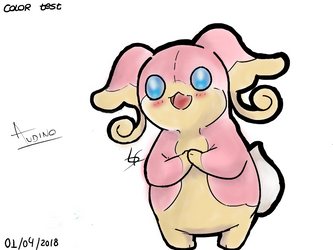 Audino (Color Test) by LFAMx