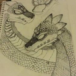 Dragon by notsuchanepicperson