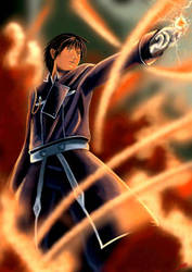 Roy Mustang the fire alchemist (color adjust) by Shinnh
