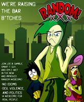 RANDOM xXx Promo Poster (April Fools!) by Derede