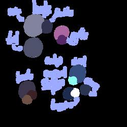 New Evian's color palette :D (no cop outfit) by GV-55