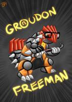 Groudon Freeman by BeckHop