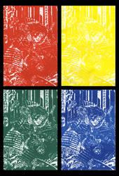 Four Color Samurai by AlexCFriend