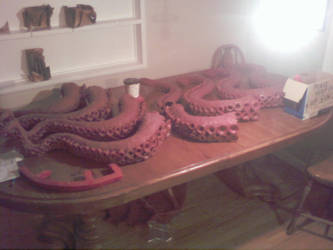 Octopus Process 08 by AlexCFriend