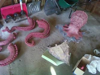 Octopus Process 09 by AlexCFriend