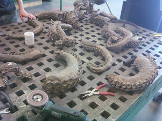 Octopus Process 13 by AlexCFriend