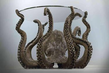 Bronze Octopus Front by AlexCFriend