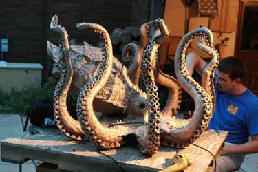 Octopus Process 16 by AlexCFriend