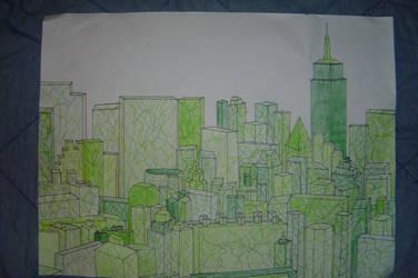 Urban Overgrowth by AlexCFriend