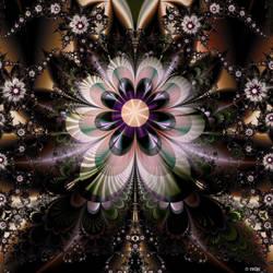 weird flower by evilpj