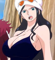 Nico Robin busty by Berg-anime