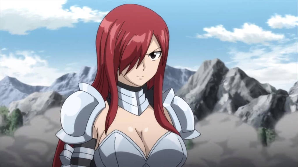 Erza scarlet fairy tail 2018 ep 5 by berg anime on - Fairy tail erza sexy ...