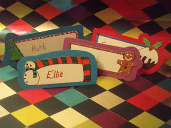 Name Cards 2 by eleanor-rigby92