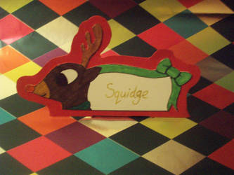 RUDOLPH - Name Card by eleanor-rigby92