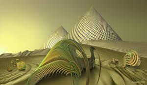 Alien Desert by janhein