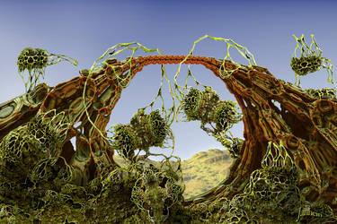 Building a fractal bridge by janhein