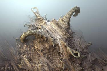 Ancient Daemon, awakening by janhein