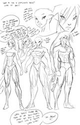 Cheetah talks werecat anatomy part 1 by FredGDPerry