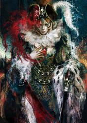 Daily-Chick 01 - Bloodstone Baroness by muju
