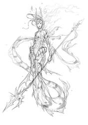 mermaid concept by muju