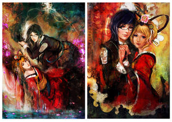 Analogue a hate story deluxe edition posters by muju