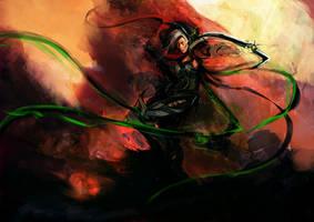 Demon Hunter by muju