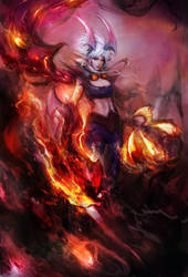 Demon VI by muju