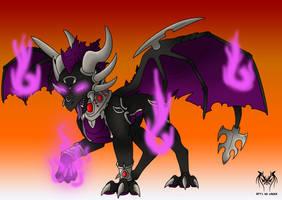 Feuriah Skylander - The purple fury by Naeda