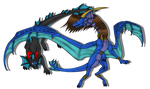 [G] Blue and Justin by Naeda