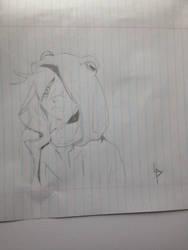Agito/Akito Sketch  by lonelyp00l