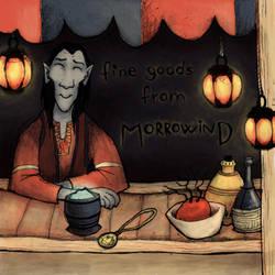 fine goods from morrowind. by felrokker