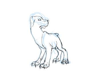 Deamon Sketch ::wip:: by DrappingMalice