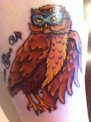 My tattoo by DrappingMalice