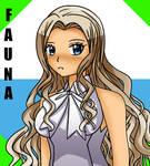 Hetalia OC: Fauna by xXDoggieLover02Xx