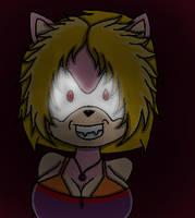 Terrified Lizzie Dark Liz by SonicUS1000