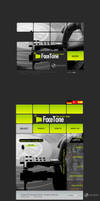 Face Tone Web Site Interface by MAEDesign