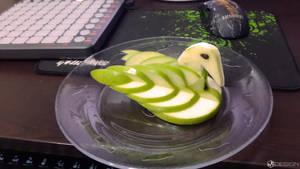 Apple Swan by MAEDesign