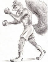 Fighter Squirrel by Master-Mofeto