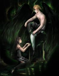 Leiftan and Erika by Cloiham