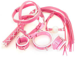 Pink bondage kit by Me-Se
