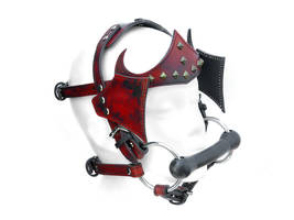Dirt Red Pony Bridle by Me-Se