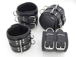 Heavy Wrist and Ankle cuffs by Me-Se