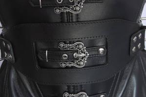 Bondage belt on the underbust corset by Me-Se