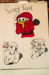 Doodles- Fethry by melody-brave