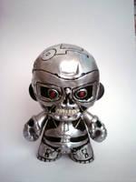 Terminator t-800 Munny by skylineBARR
