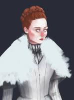 Sansa Stark by AlexZandraLeigh