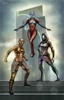Mass Effect by vitorzago