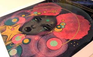 Hand embellished prints  by lalalandofclouds