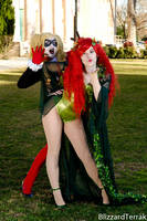 SACW14 - Ivy and Harley by BlizzardTerrak
